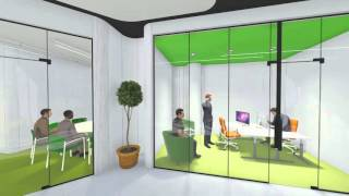 Co-working space concept