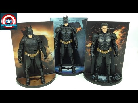 The Dark Knight Trilogy Movie Masters Premium Box Set
