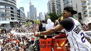 Raptors parade in under 8 minutes: Highlights