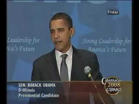 Barack Obama 2007 Speech