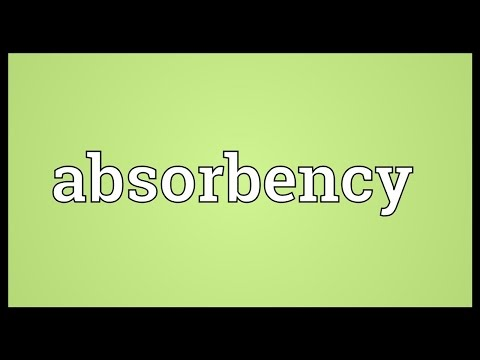 Header of Absorbency