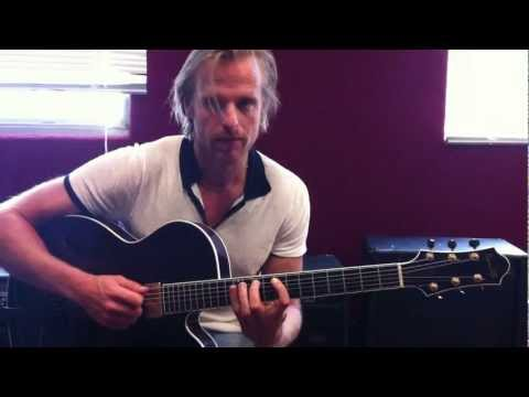 Andreas Oberg - Whole Tone Scale Over Minor Chords