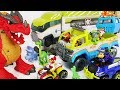 Paw Patrol Jungle rescue Terrain vehicle, Patroller! Save dinosaurs and defeat dragon! #DuDuPopTOY