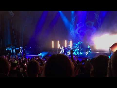 Stone Sour - Through Glass live, tribute to Chester Bennington, Mansfield, MA 7/20/17