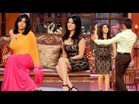 Sunny Leone & Ekta Kapoor On Comedy Nights With Kapil video