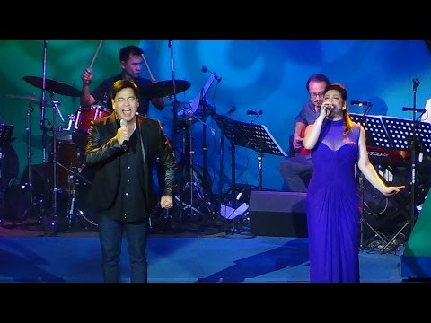 REGINE VELASQUEZ & MARTIN NIEVERA - Broadway Medley (On A High Note Concert!)