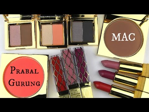 MAC Prabal Gurung Collection: Live Swatches & Review