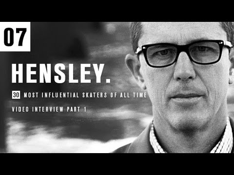 30th Anniversary Interviews: Matt Hensley Part 1 - TransWorld SKATEboarding