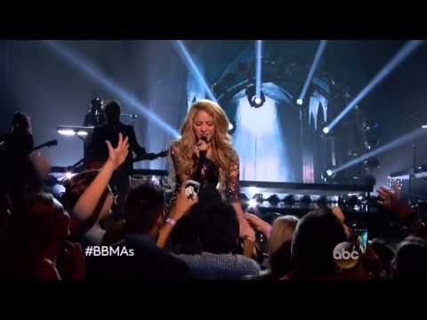 Shakira -  Empire   Live performance 2014 Billboard Music Awards