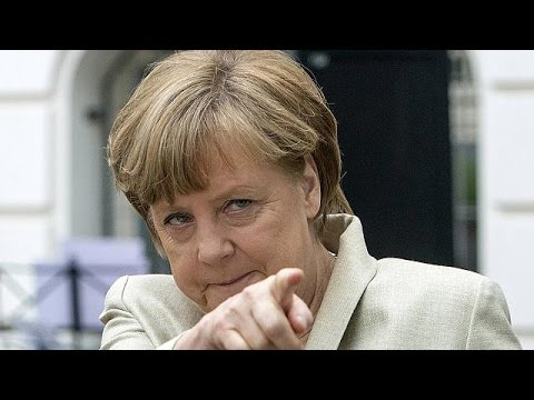 German Chancellor Angela Merkel has topped the \
