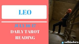 "LEO - ""SOMEONE IS WORTH THE WAIT"" JULY 16-17 DAILY TAROT READING"