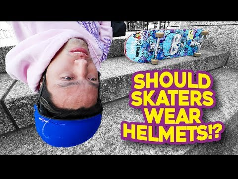 WHY ALL SKATERS SHOULD WEAR HELMETS!!