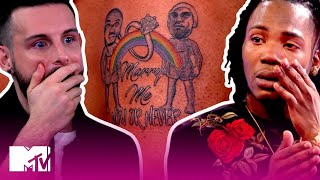 Will This Unexpected Tattoo Cause This Couple To Implode? | How Far Is Tattoo Far? | MTV