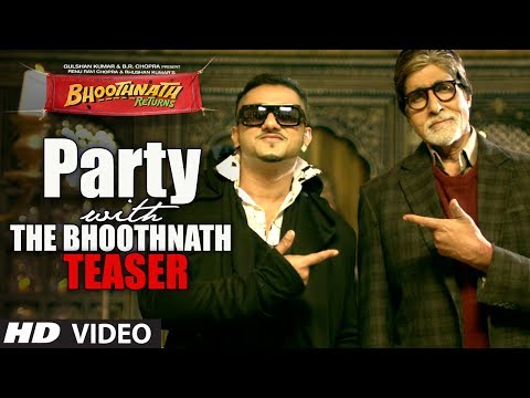 Party With The Bhoothnath Song Teaser | Bhoothnath Returns | Amitabh Bachchan, Yo Yo Honey Singh video