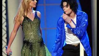 Michael Jackson and Britney Spears- The Way You Make Me Feel Live 2001