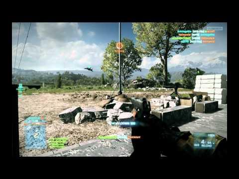 Battlefield 3 Caspian Border Gameplay on Nvidia GTX 580 SLI