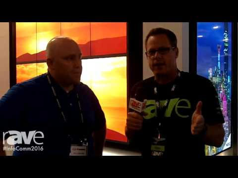 InfoComm 2016: Gary Kayye Interviews NEC Display Rich Ventura About Digital Signage Displays