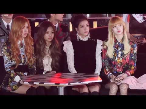 HD FANCAM 161226 BLACKPINK Offstage + Reaction full cut @ SBS Gayo Daejun 2016   YouTube