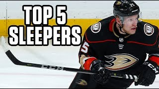 Top 5 Sleepers | 2019 Fantasy Hockey Draft Kit
