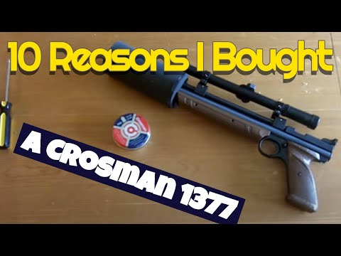 10 Reasons to buy a low cost Crossman 1377 Air Pistol