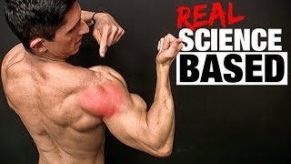 REAL Science Based Rear Delt Exercise (ALL NEW GAINS!)