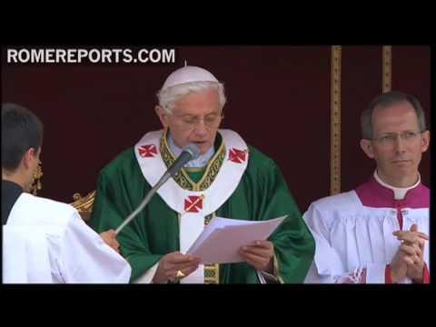 Papa propone el rezo del rosario como oración para el Año de la Fe