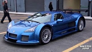 800HP Twin Turbo Gumpert Apollo Exhaust Sound