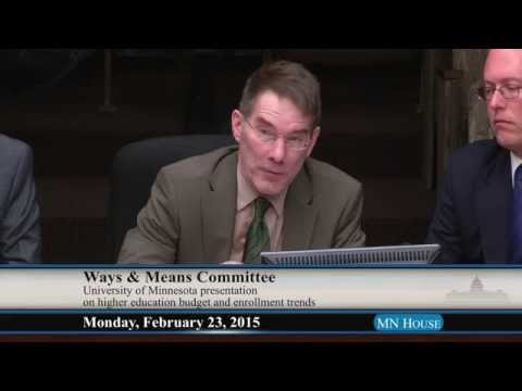 House Ways and Means Committee  2/23/15