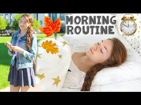 Fall Morning Routine: Running Late!