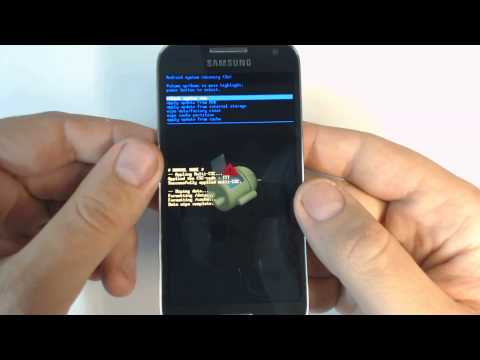 Samsung Galaxy S4 mini Duos I9192 - How to remove pattern lock by hard reset