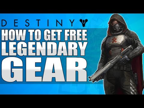 Destiny: How To Get FREE LEGENDARY Shaders & Emblems (Free Codes)
