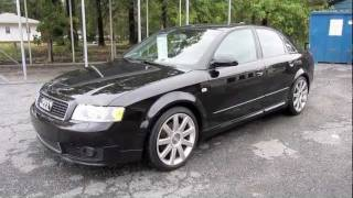 Short Takes: 2004 Audi A4 1.8T 6-speed Ultra Sport (Start Up, Engine, Full Tour)