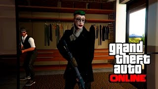 GTA V PS4 Online In Franklin House | GTA 5 Deathmatch
