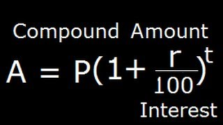 Compound Interest and Compound Amount Derivation
