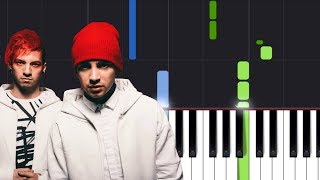 """twenty one pilots- """"Jumpsuit"""" Piano Tutorial - Chords - How To Play - Cover"""