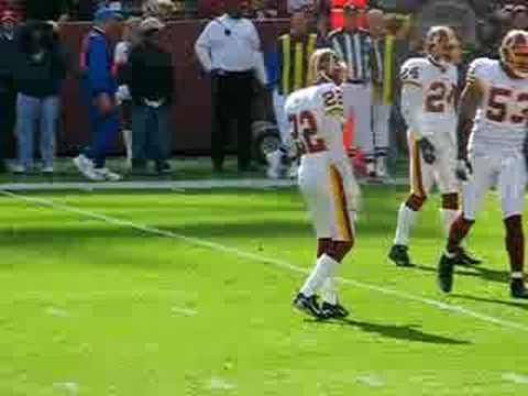 Redskins Walk It Out Video