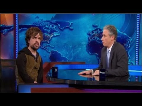 Peter Dinklage Interview with Jon Stewart - The Daily Show - March 31, 2014
