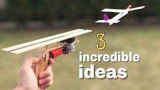 3 incredible ideas and Amazing Homemade inventions