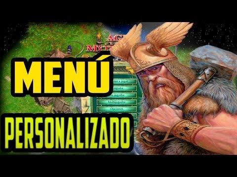 Pack de fondos dinámicos para el menú de Age of Mythology The Titans - Custom Menu Backgrounds