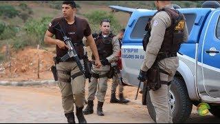 Polícia Militar do 5º BPM/BA entre em ação em Euclides da Cunha.