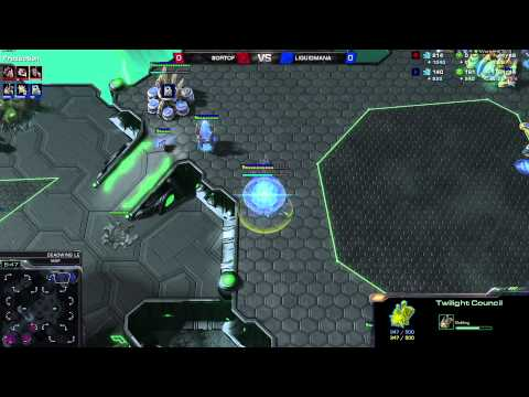 ZvP Mana vs SortOf - g1 - Deadwing Starcraft 2 1080p Polski komentarz
