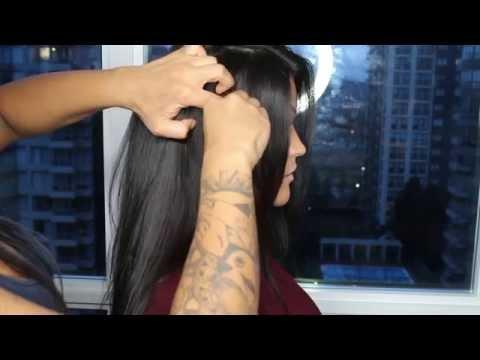 DIY CLIP IN VIRGIN HAIR EXTENSIONS - SONJDRADELUXE