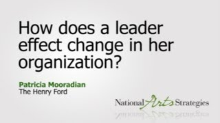 effect of change in an organisation