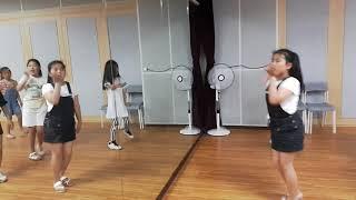 관산JHD 프라임 K~POP댄스 2부 수업영상 여자아이들 LATATA