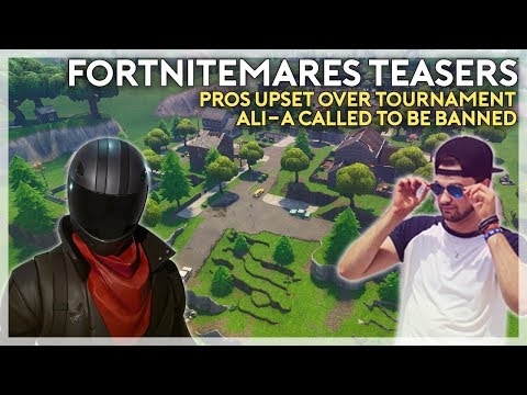 Ali-A Should Be Banned, Fortnitemares Teases, and Pros Are Not Happy (Fortnite Battle Royale)
