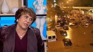 """""""Fim dos tempos"""", Sensitiva Márcia Fernandes explica enchentes no Rio de Janeiro"""