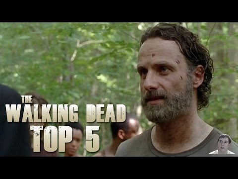 The Walking Dead Season 5 Episode 2 - Strangers Top 5 Best Moments!