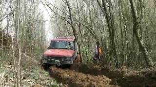 LAND ROVER DISCOVERY TD5 vs JEEP WRANGLER RUBICON V6 **OFFROAD**