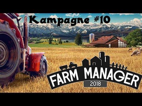 Let's Play Farm Manager 2018 | Die Kampagne #10 | Unkraut und kranke Tiere [HD]