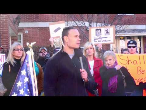 Dan Bongino @ Guns Across America Rally in Annapolis, MD